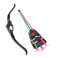 35Cm Funny Outdoor Garden Games Toy Shooting With Sucker Plastic Archery Bow And Arrow Toys For Children With Sucker Gifts Set