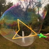 Big Size 40cm Outdoor Toys Long Bubble Machine Gun Bar Sticks Without Water Western Sword Shape For Kids Soap Bubble Toy