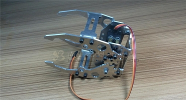 4 DOF 6DOF Full Metal Robotic Claw/Gripper/Robot Mechanical Claw/Compatible with M G996-R/ For DIY Robot/Tank/Car