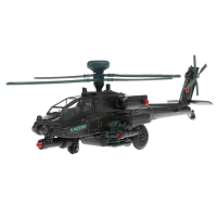 KAIDIWEI 1:64 Helicopter Airplane Fighter alloy model with sound and light