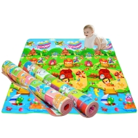 Waterproof Thick Baby Play Mat Kids Crawling Carpet Climb Soft Floor EVA Foam Outdoor Picnic Pad Game Toys for Children Blanket