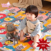 Infant Shining 2CM Baby Mat Play Mat for Kids 180*200*2cm Playmat Thicker Bigger Kids Carpet Soft Baby Rugs Crawling Floor Mats
