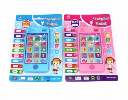 Russian language Baby phone the latest version of 4G  children's educational simulation music mobile  Free shipping