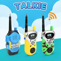 2pc/set Wireless Walkie Talkies Toys Kids Funny Gadget Radio Talkie Parent-child Interactive Game Electronic Toys Children Gift