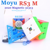 2020 Moyu MFRS3 M Magnetic 3x3x3 speed magic cube 3x3 puzzle cube MF RS3M Magnet 3x3x3 cubo magico RS3 M
