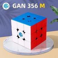 GAN356 M Magnetic Magic Speed Gan Cube Stickerless GAN356M Magnets Professional GAN 356 M Puzzle GANS Cubes