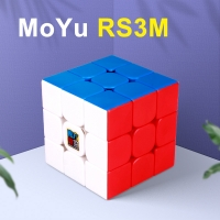 Moyu RS3M 2020 Magnetic 3x3x3 Magic Cube MF3RS3M cubing classroom RS3 M Magnets Puzzle Speed RS3M Cube Toys for Children