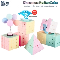 2020 Newest Macarons 2x2 3x3 4x4 5x5 Pyraminxed Magic Cube 3x3x3 speed cube Stickerless Neo Professional Puzzle Toy For Kids