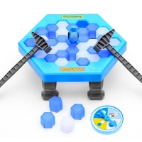 Save The Penguin Penguin Ice Breaking Great Family Funny Desktop Game Kid Toy Gifts Who Make The Penguin Fall Off Lose This Game