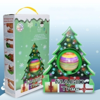 DIY Kids Drawing Toys Christmas Tree Decoration Balls Educational Craft Toy Set Home Decor Ornaments Egg Children Gifts