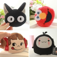 11CM Cute Mini  Plush Wallet Soft Plush Coin Purse Cartoon Wallet Girls Lovers Valentine's Gift Small Bag Gift for Kids