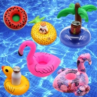 Summer Toys Inflatable Drink Holder Flamingo Zwembad Speelgoed Swimming Pool Game Float Cup BeerBeach Party bouee gonflable pisc
