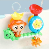 Bath Toys Baby Water Game Monkey's turn baby bath toy boy girl Shower sprinklers toy