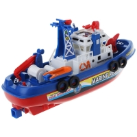 Electric Boat Children Marine Rescue Toys Navigation Warship Toy Birthday Gift