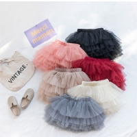 Baby Girls Tutu Skirts Lace Summer Baby Clothes Kids Princess Girls Skirt Ball Gown Pettiskirt Birthday Party Kawaii Skirts