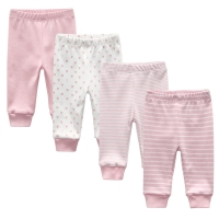 3/4-pack autumn baby leggings Newborn Baby Pants Cotton Infant Pant Baby Trousers 0-12M Boy Clothes