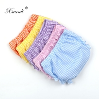 2020 MEW Baby Boy Girls Shorts Newborn Bloomers Baby Panties Infant checkered Pattern Shorts Baby Clothes