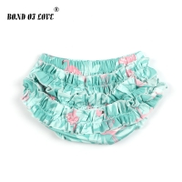 Baby Shorts Newborn Bloomers Kids Girls Boys Diaper Cover Ruffle Printed Bloomers Summer Infant Cotton Pants Bloomer Nappy Cover
