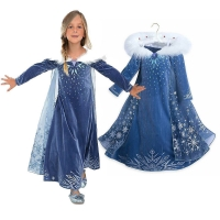 Halloween Girl 4 10 Year Cosplay Clothes Party Dress Princess Snow White Dresses For Kids Girls Costume