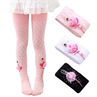 Dancing Ballet Tights for Girls Highly Elastic Soft Cotton Comfort Children Pantyhose Cute Princess Bowknot Baby Girl Stockings