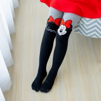 Disney Girls Pantyhose Minnie Tight Children Girls Stockings Cotton Tights for Girls Cute Cotton Micky Kids Tights Stockings