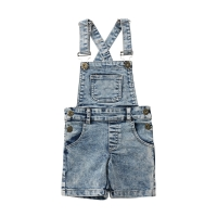 6M-6T Toddler Kids Baby Girl Boys Vest Cool Denim Bib Short Pants Shorts Overalls Outfits
