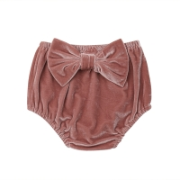 Kids Baby Girl Velvet Shorts Princess Bow Bottoms  Shorts Diaper Cover Panties PP Pant