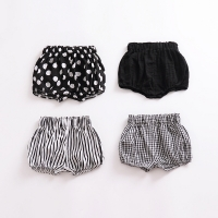 Cotton Baby Short Pant Newborn Baby Pants Plaid Flower Baby Leggings Baby Boys Girls Pants Short PP pant  trousers