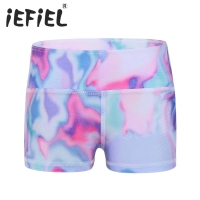 iEFiEL Child Kids Girls Dancewear Shorts Bottoms Ballet Class Clothe for Sports Workout Gymnastics Leotard Dance Shorts Costumes