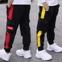 New Boy Sports Pants Big Boy Pants Spring Teenage 2020 Spring Toddler Casual Kids Trousers For Boys Clothes Age 10 12 14 16 Year