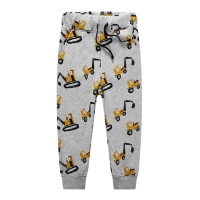 Jumping New Baby Boys Pants Kids Harem pants Autumn thick animal dinosaur Cotton car Pants Children Trousers for boys long pants