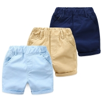 2021 Summer England 2 3 4 5 6 7 8 9 10 Years Toddler Infant Cotton Sports Solid Color Handsome Kids Baby Boy Shorts