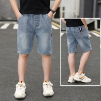IENENS Kids Boys Clothes Shorts Jeans Classic Pants Children Denim Short Pants Clothing Baby Boy Casual Trousers