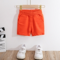 VIDMID Summer Cotton Children's Shorts For Boys Girls Boys Beach trousers candy Colors Kids Casual Shorts Baby Clothing 7042 01