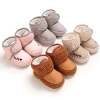 Baby Casual Shoes Newborn Booties Baby Boys Girls First Walkers Shoes Infant Toddler Soft Sole Anti-slip Baby Shoes