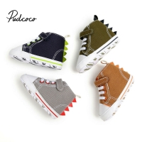 Fashion Kids Antislip Soft Cartoon Girls Boys Toddler Casual Shoes Cute Running Shoes Spring Children Sport Sneakers 0-18M