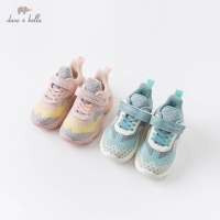 DB16345 Dave Bella autumn baby girl boys fashion patchwork shoes new born unisex casual shoes