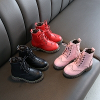 MHYONS 2019 Children Boots Boys Snow Waterproof Shoes Kids Genuine Leather Boots Boy Boots Girls Martin Warm Shoes Sport Shoes