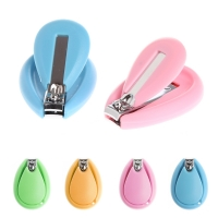 New 1Pc Baby Nail Clipper Safety Cutter Toddler Infant Scissor Manicure Pedicure Care Random Color