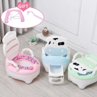 Portable Baby Toilet Potty Training Portable Potty Seat Child Pot Training Girls Boy Potty Kids Chair Toilet Seat Children's Pot