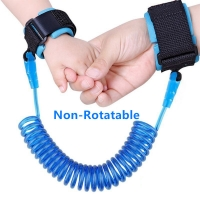 2m Kids Safety Harness Adjustable Children Leash Anti-lost Wrist Link Traction Rope Baby Walker Wristband
