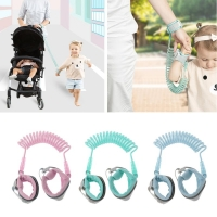 360Toddler Baby Safety Harness Leash Kid Anti Lost Wrist Traction Rope Band Children Belt Walking Assistan Baby Walker Wristband