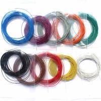 30AWG 5m LaisDcc Stranded Ultra Fine Ultra Flexible Decoder thin Wire with 0.51mm Outside Diameter/LaisDcc Brand