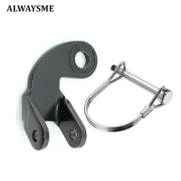 ALWAYSME Bicycle Bike Trailer Coupler 12.2MM Elbow 45/135 Degree 45°/135° Steel Hitch