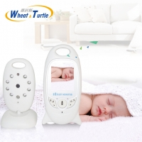 Wireless Video 2.0 Inch Color Baby Sleeping Monitor NightVision IR LED Temperature Monitor Safety Care Video Nanny Alarm