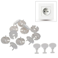 15Pcs French Standard Plug Socket Protective Cover and 3 Pcs Key Socket Protection for Baby Child Safety Kit Children Care
