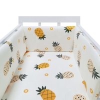 One-Piece Bumper Crib Around Cushion Cot Protector Pillows Baby Bed Bumper Toddler Bedroom Babe Crib Bedding Set Home Deco
