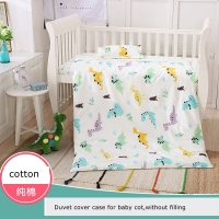 Fluorescent-free Quilt Cover Case For Crib Baby Duvet Cover Kindergarten Quilt Cover Parent-child Quilt Cover Kids Beddings