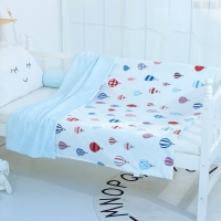 Baby Peas Soothing Blankets Children's Cotton Comfort Duvet Kids Nursery Napping  Air Conditioning Quilts Cover Case