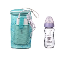 USB Baby Bottle Warmer Heater Insulated Bag Outdoor Travel Portable In Car Heaters Infant Drink Warm Milk Thermal Bags MBG0338